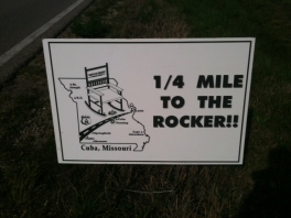 1/4 Mile to the Rocker