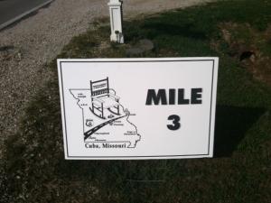 Mile Marker 3