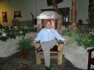 Seated on a Throne of Humility